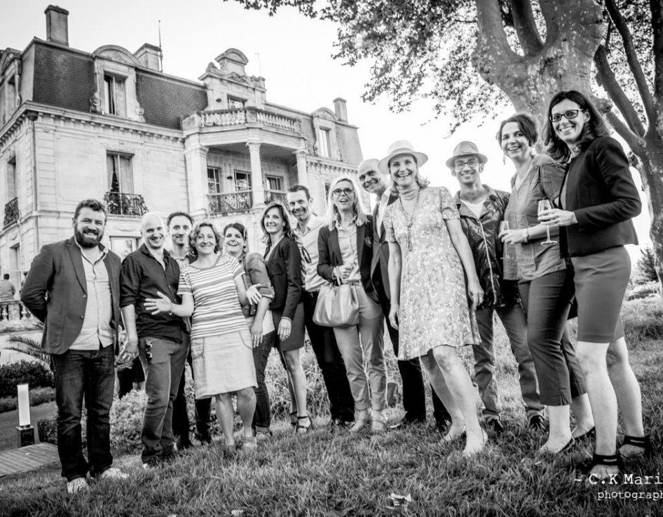 Réseaux com Nouvelle-Aquitaine à la Nuit de la Com